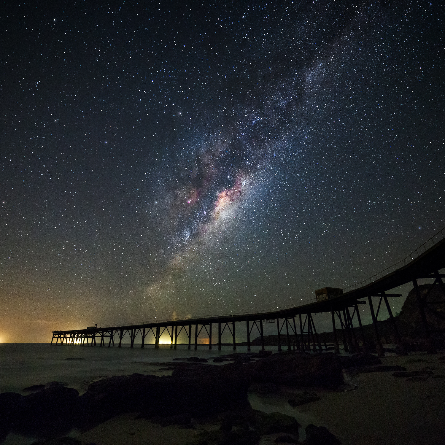 Milky Way over Catherine Hill Bay