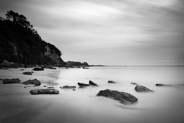 Secret Beach Black & White