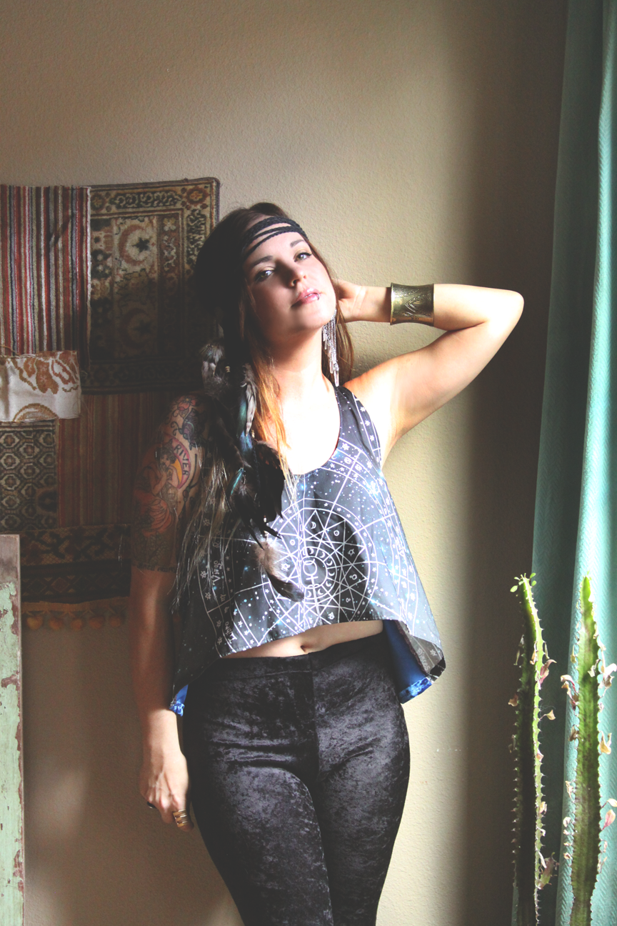 mamie ruth astrology zodiac tank top outfit on roots and feathers.png