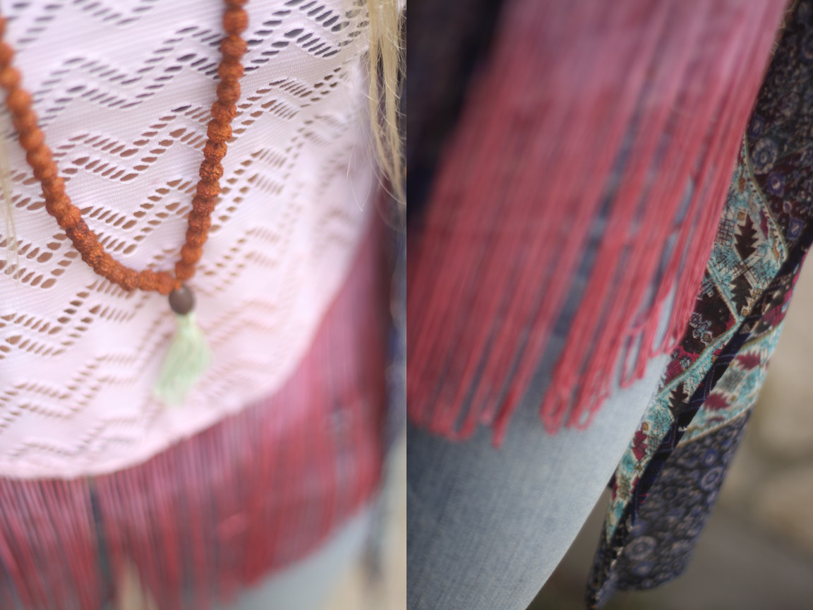 fringe tank + kimono outfit rootsandfeathers.com