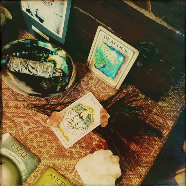 november sacred space on roots and feathers