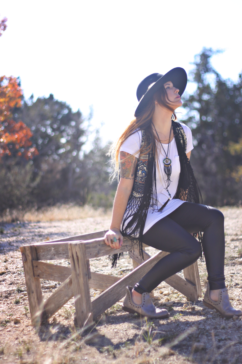 Texas Skyline Lookbook by Roots and Feathers