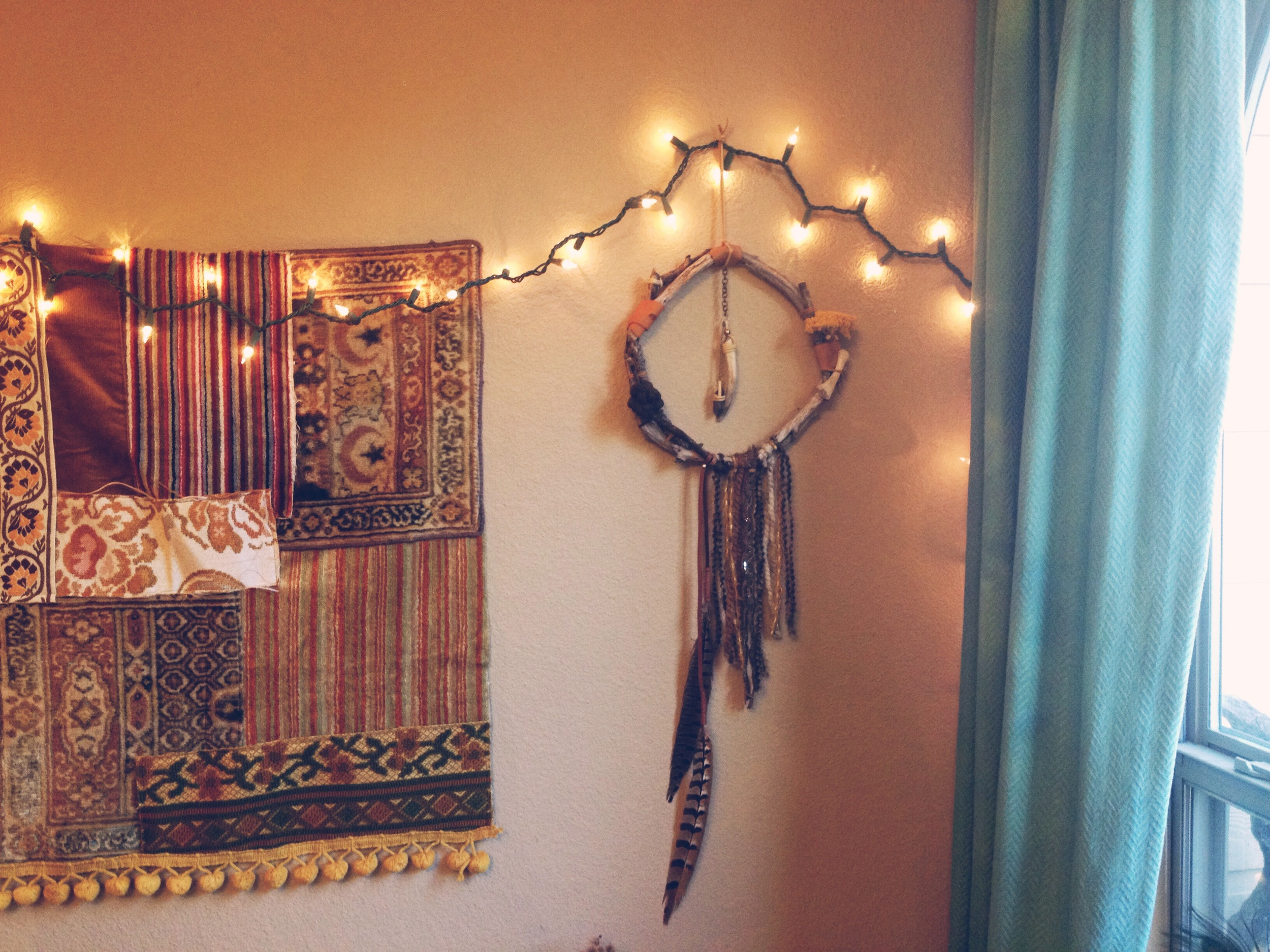One of the many custom dreamcatchers I created this week...