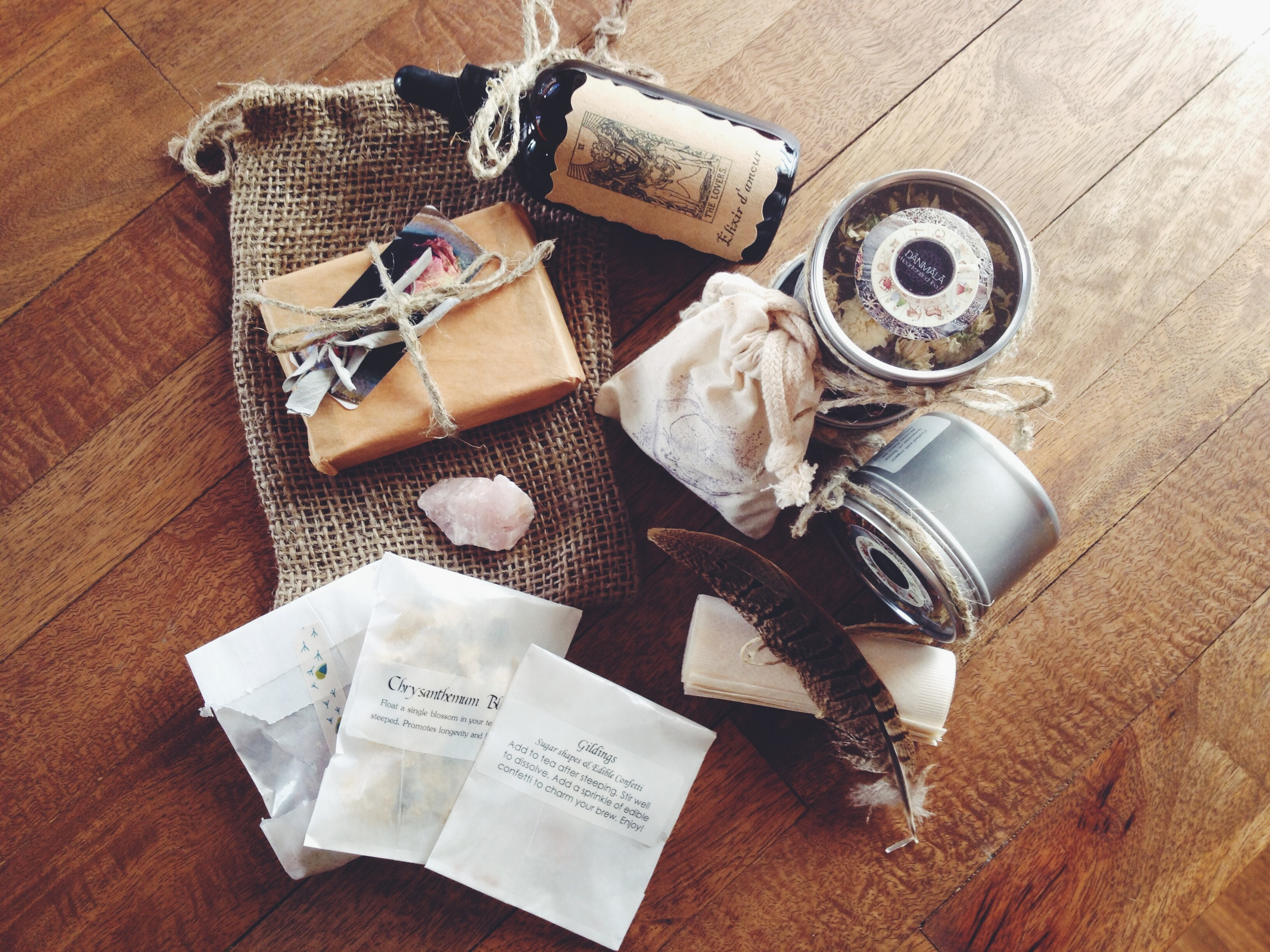 the yummiest package from Danmala Teas... ill share soon...