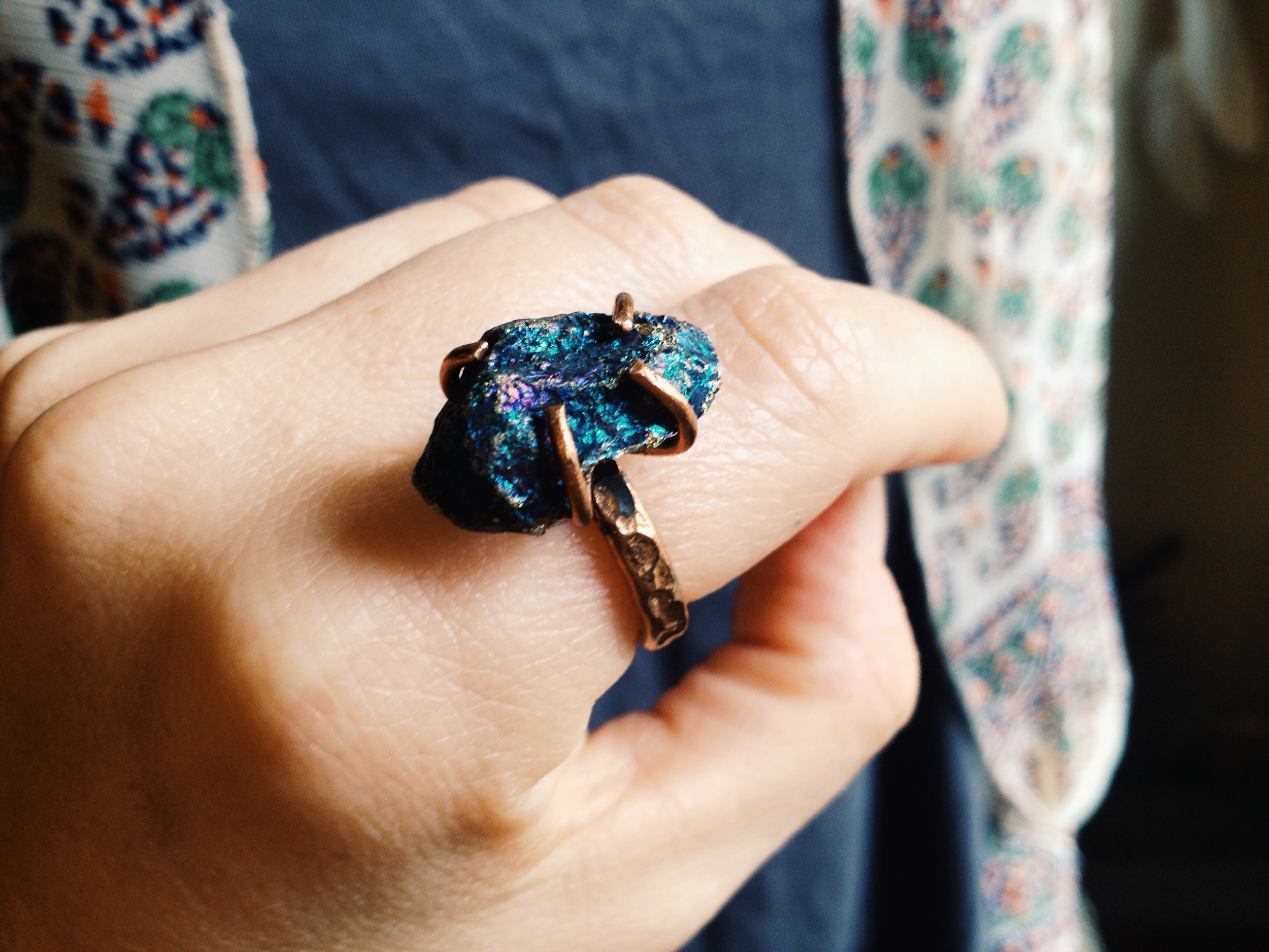 Roots & Feathers Ring