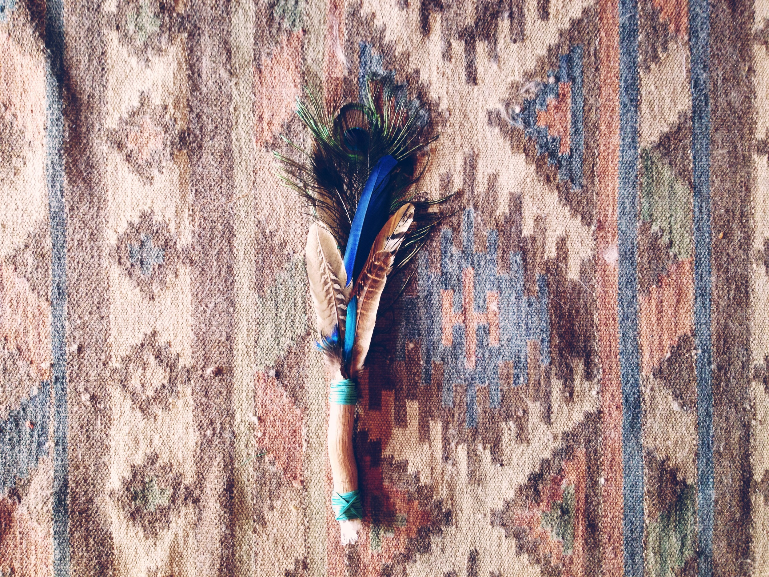 Smudge Fan by Roots & Feathers