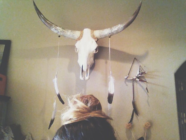 Top knot & Longhorn