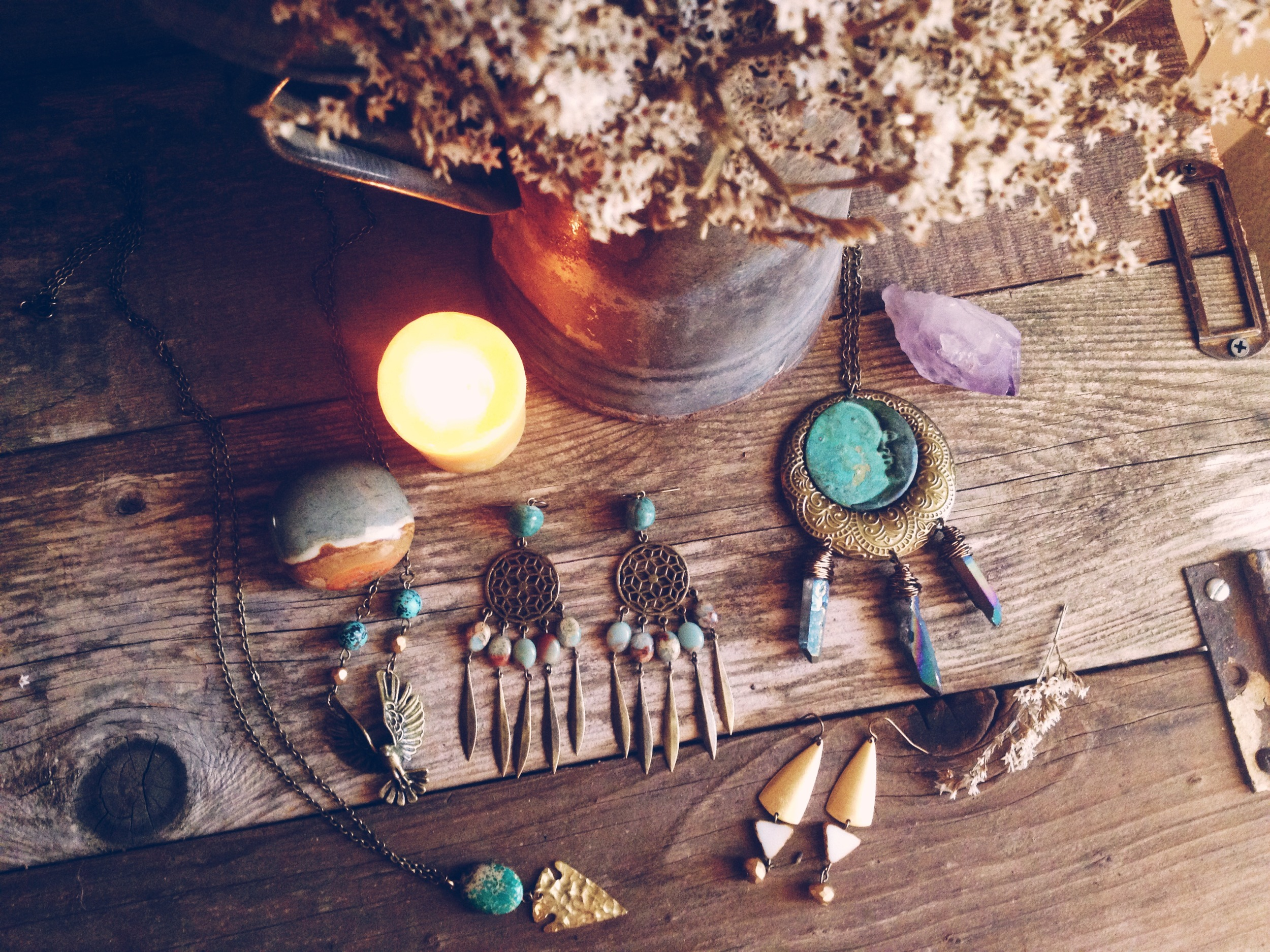 Roots and Feathers Jewelry