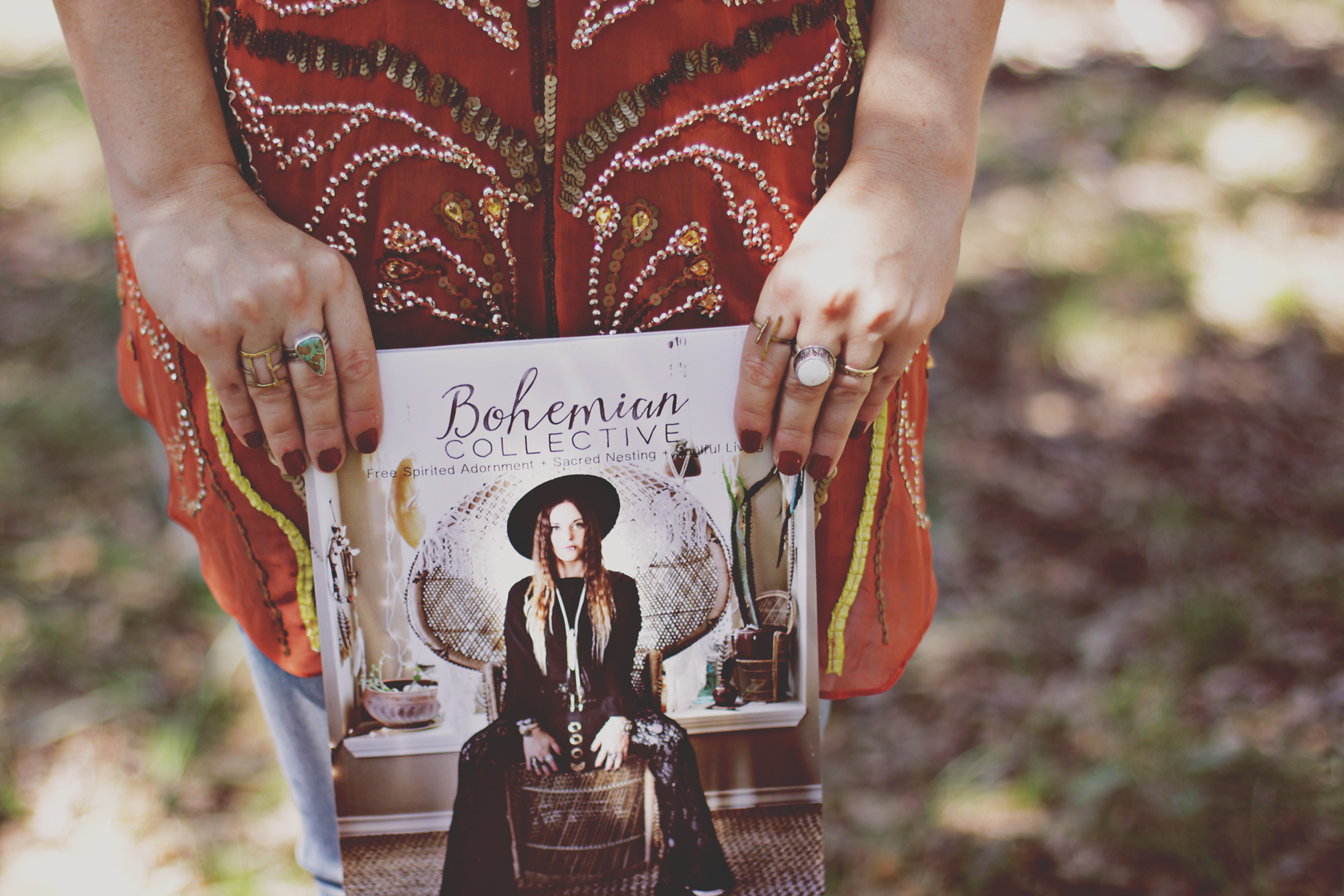 There is a   Celebratory Adornment + Magazine Sneak Peek   over on the Bohemian Collective!