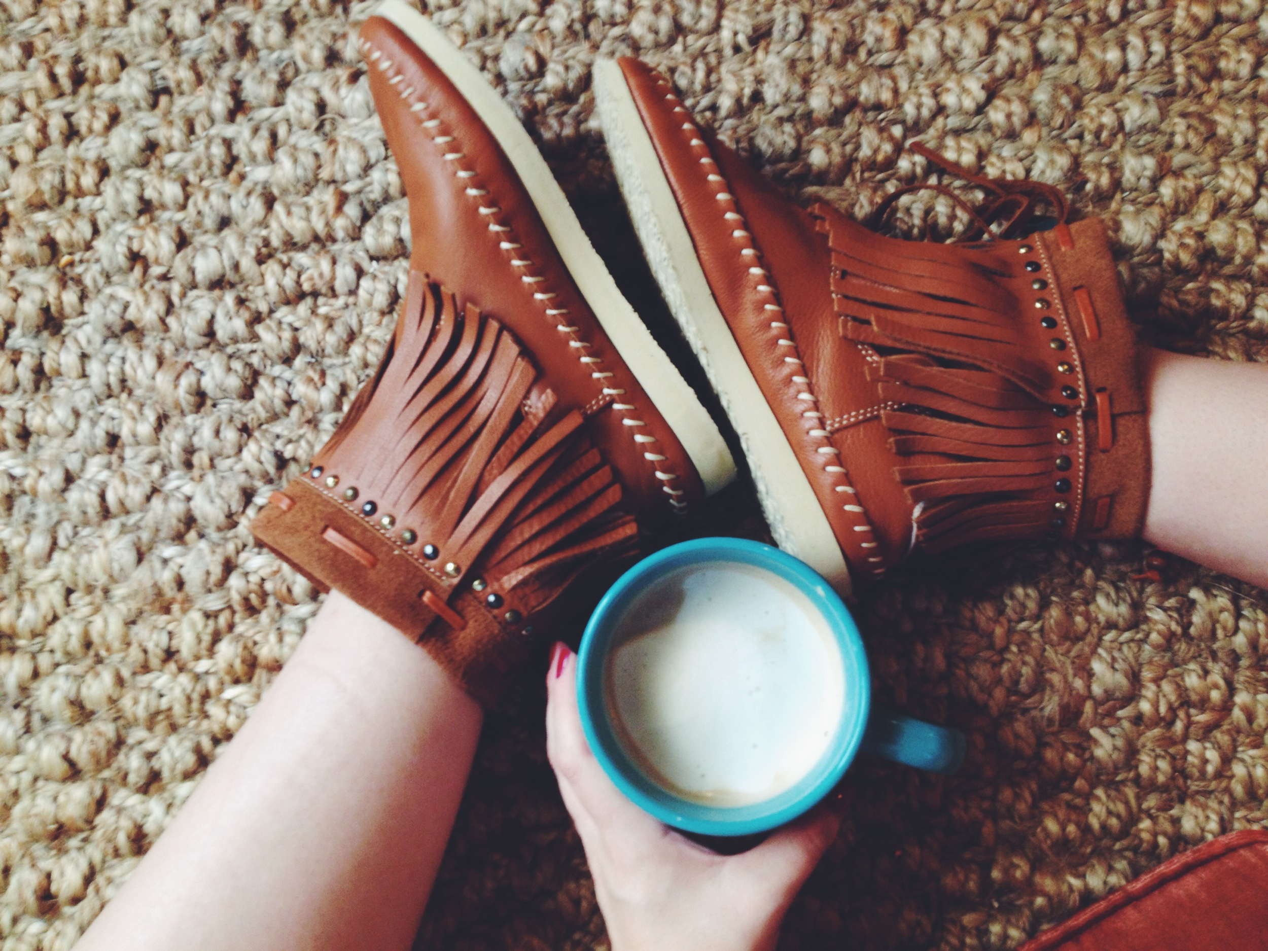 I'm seriously pretty obsessed with these booties from  Buyamba . They are a wonderful company with amazing ethics, and make the cutest shoes!