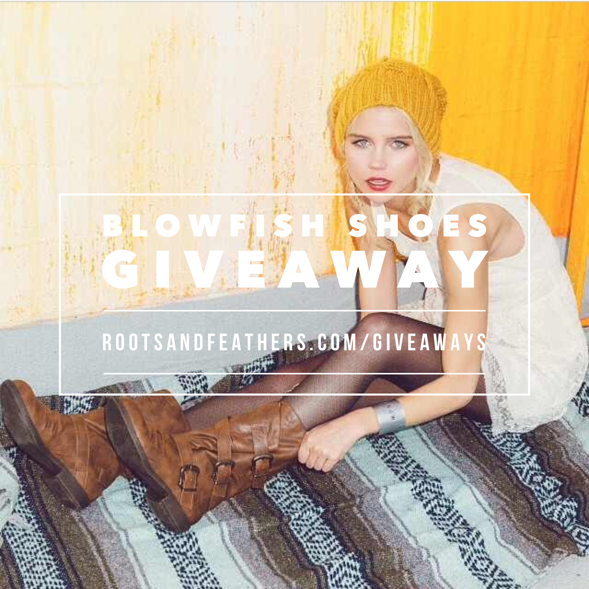 Blowfish Shoes Giveaway via rootsandfeathers.com/giveaways