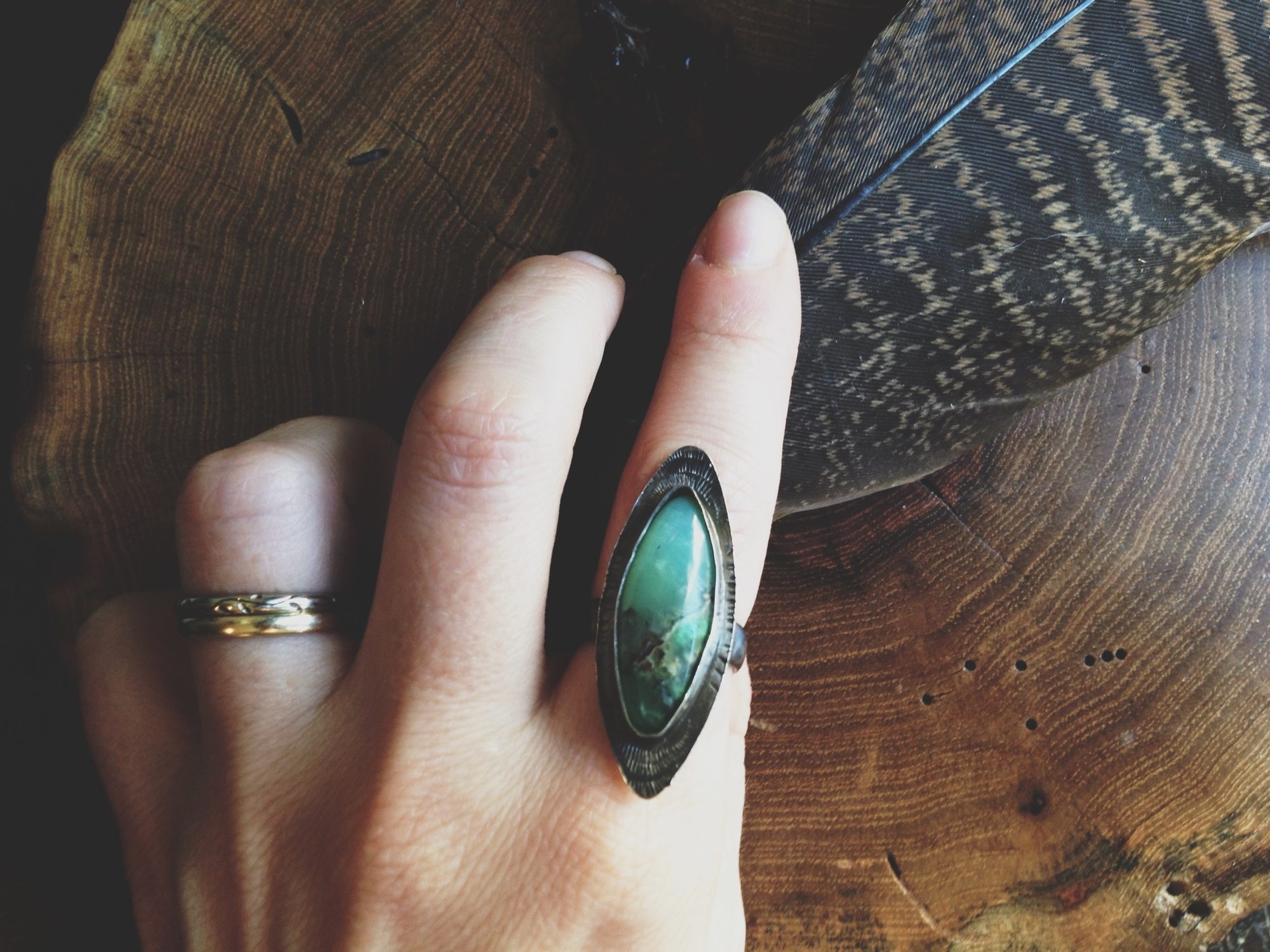 Beautiful ring by  Cultivated Dreams .