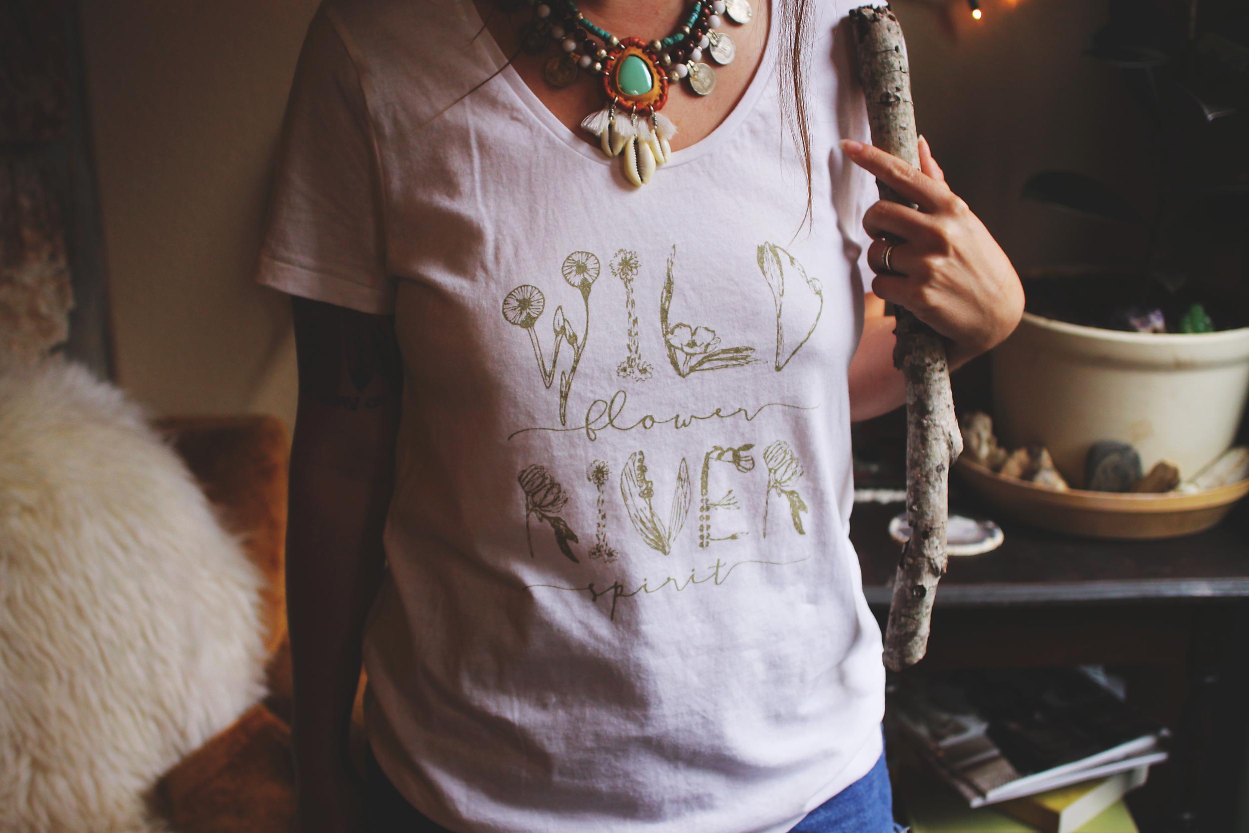 Skyline Fever Wild River Tee