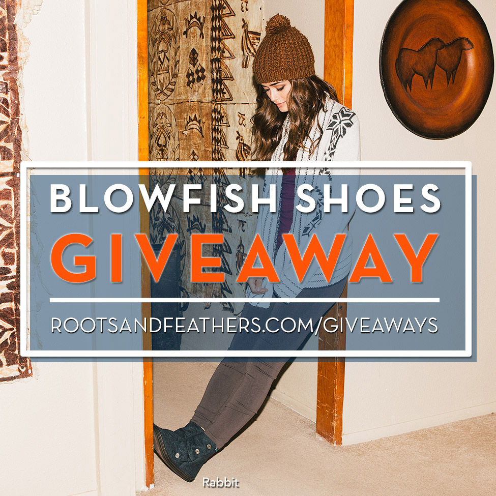 Blowfish Shoes Giveaway via rootsandfeathers.com