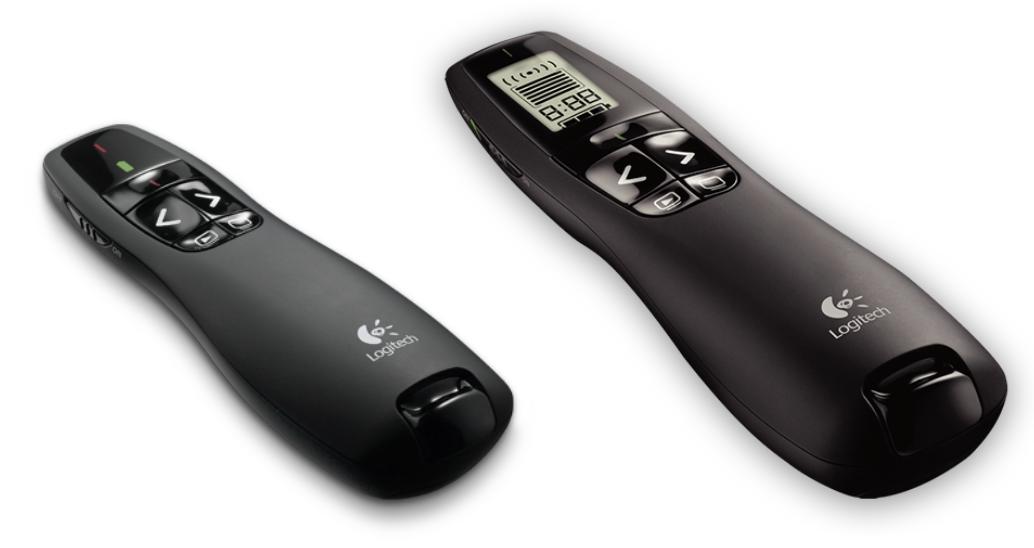 Logitech R400 (links) en R700-800 (rechts)