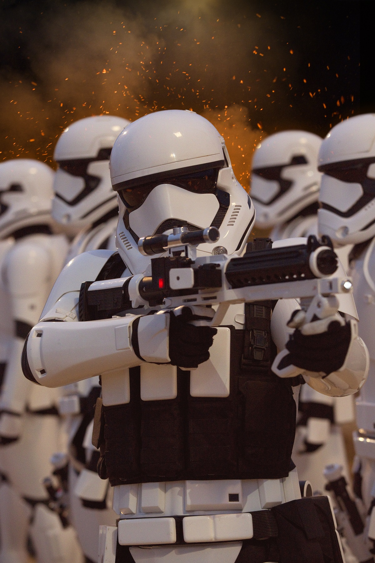 Star Wars: The Force Awakens..First Order Stormtroopers..Ph: David James..? 2015 Lucasfilm Ltd. & TM. All Right Reserved..