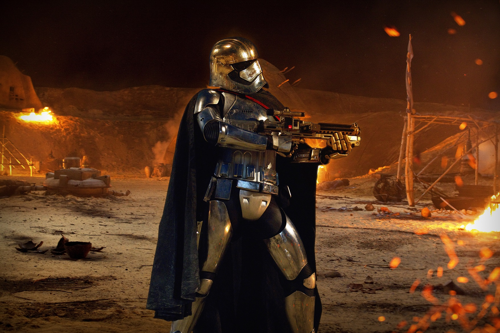 Star Wars: The Force Awakens..Captain Phasma (Gwendoline Christie)..Ph: Elena Dorfman..? 2015 Lucasfilm Ltd. & TM. All Right Reserved...