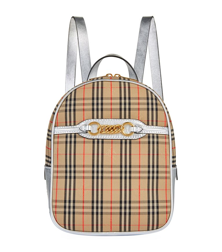 Burberry - 1983 Check Link Backpack