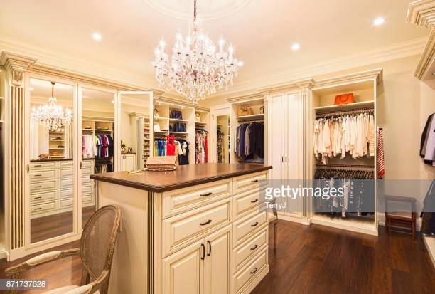 Beautiful custom closet in an estate home