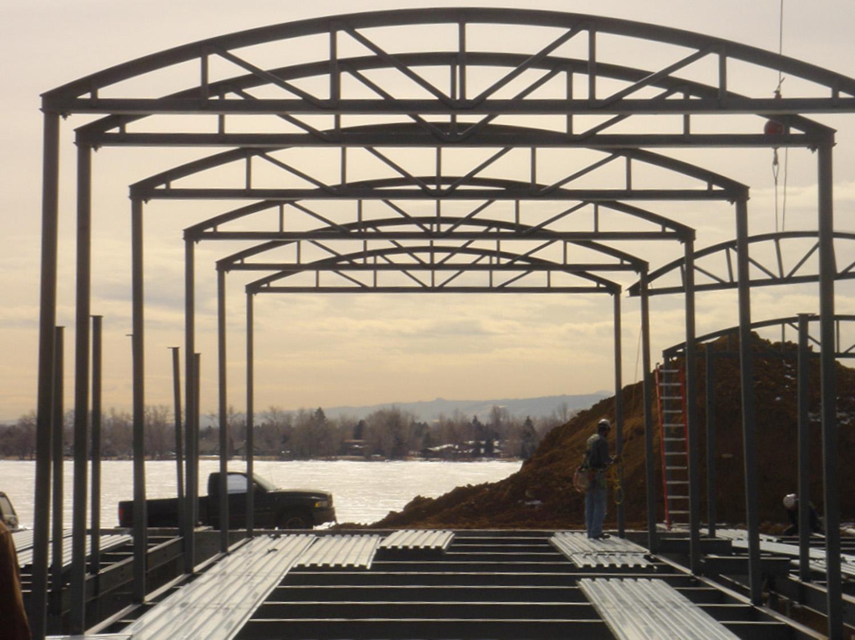 structural steel erection