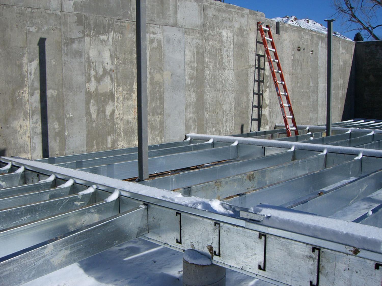 structural aluminum ranger basement floor