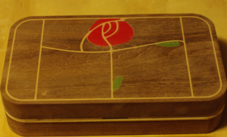 jewelry box inspired by charles rennie mackintosh's work