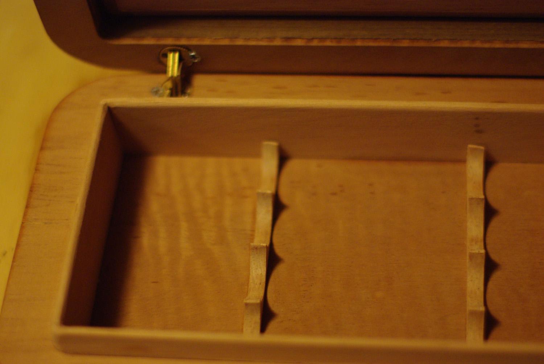 cedar liner and cigar holders