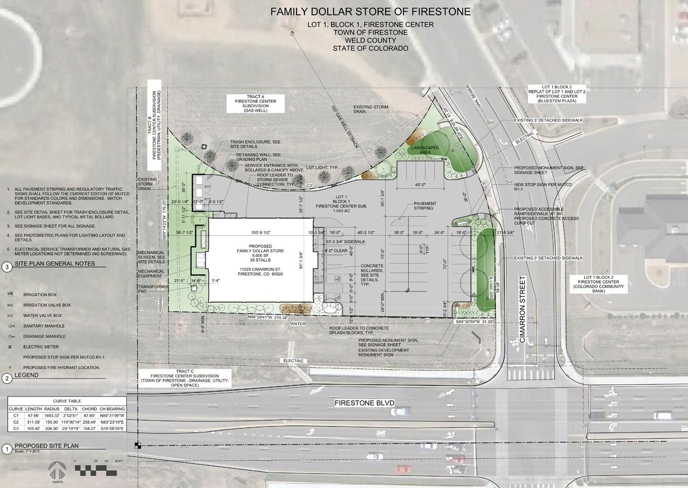 neighborhood meeting presentation site plan