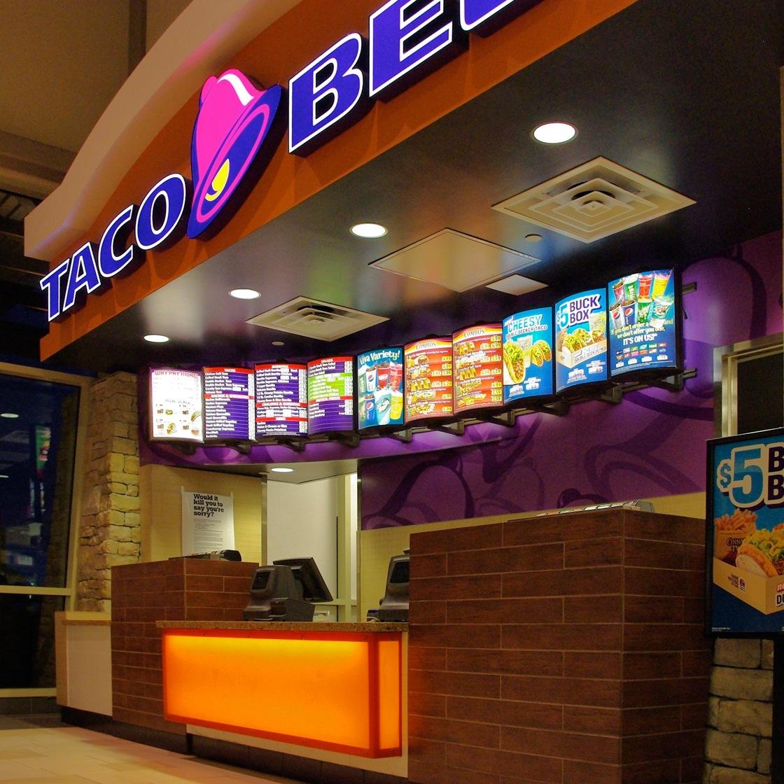 taco bell - aurora mall