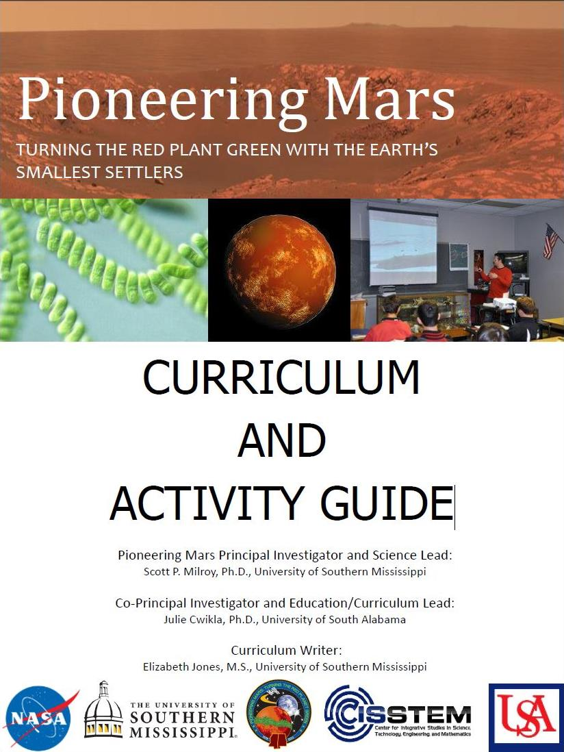 Pioneering Mars: Curriculum and Activity Guide