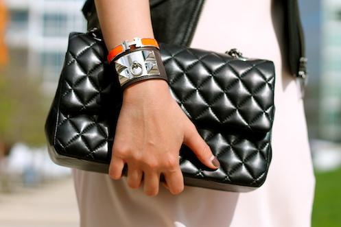 Hermes Collier de Chien and Clic Clac bracelets