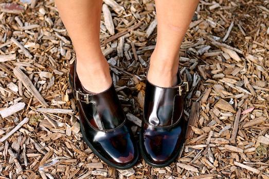 shoes c/o Miista