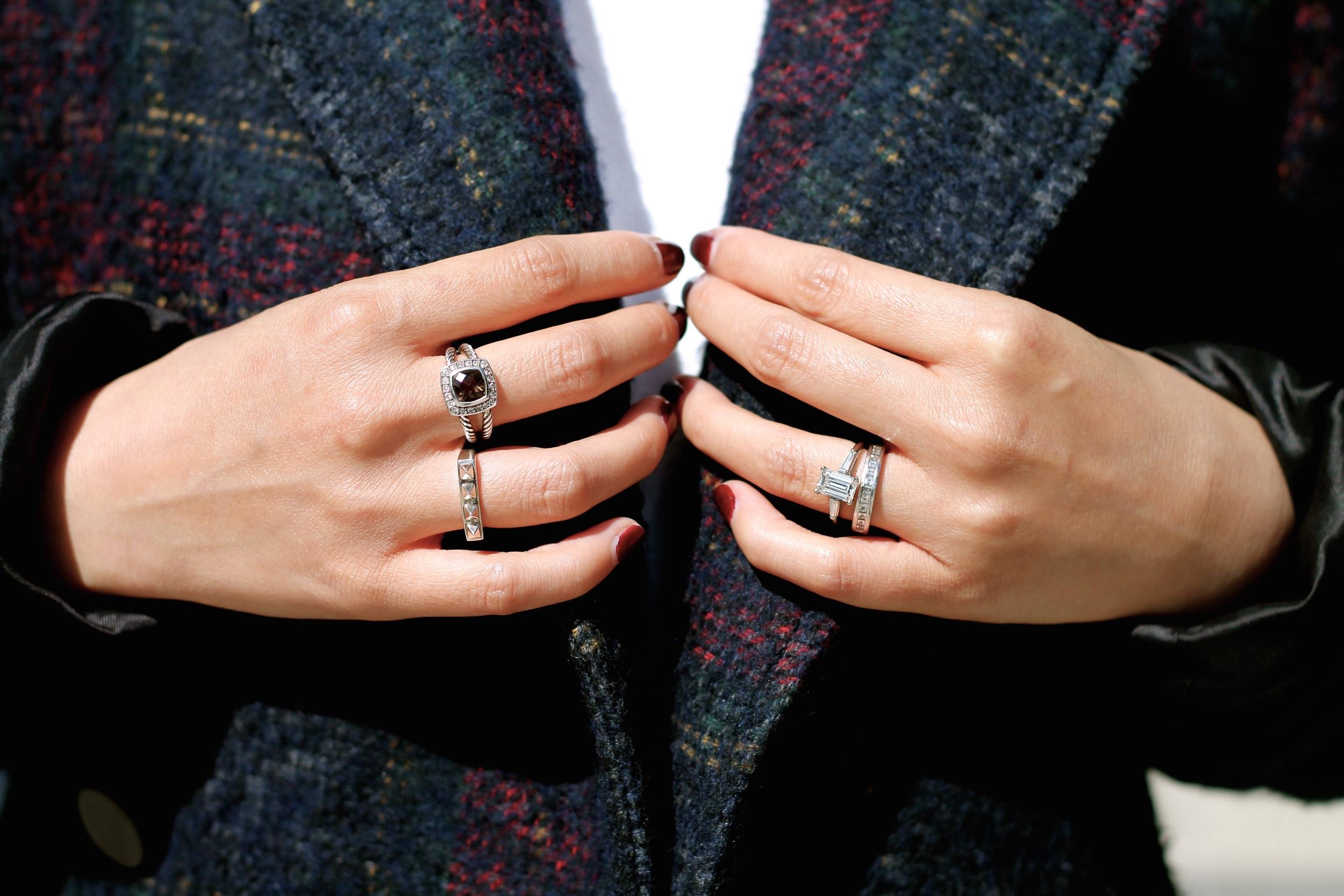 David Yurman, Svelte Metals and my own rings