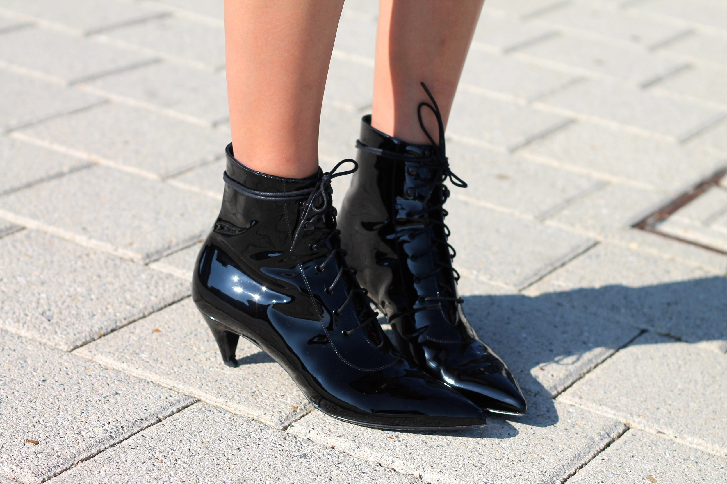 Saint Laurent booties