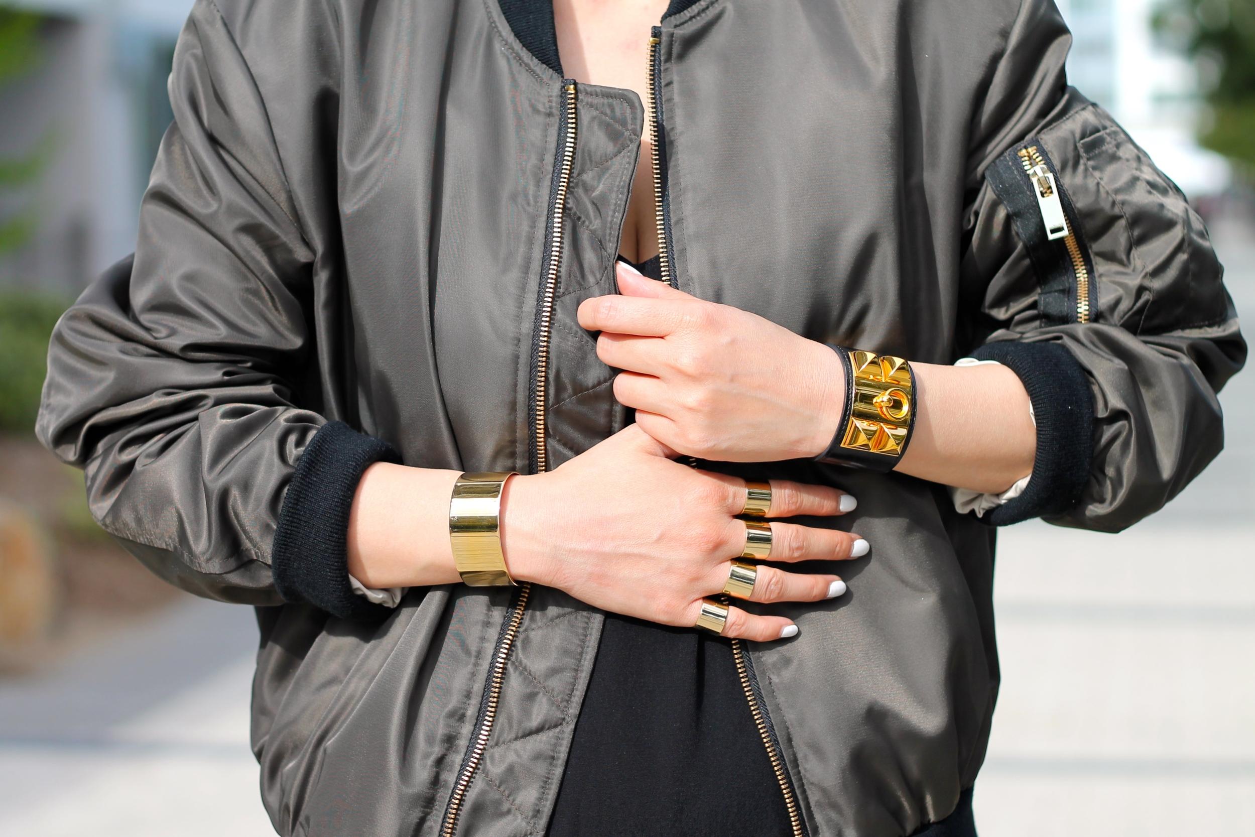 Maison Margiela rings, Hermes and Svelte Metals bracelets