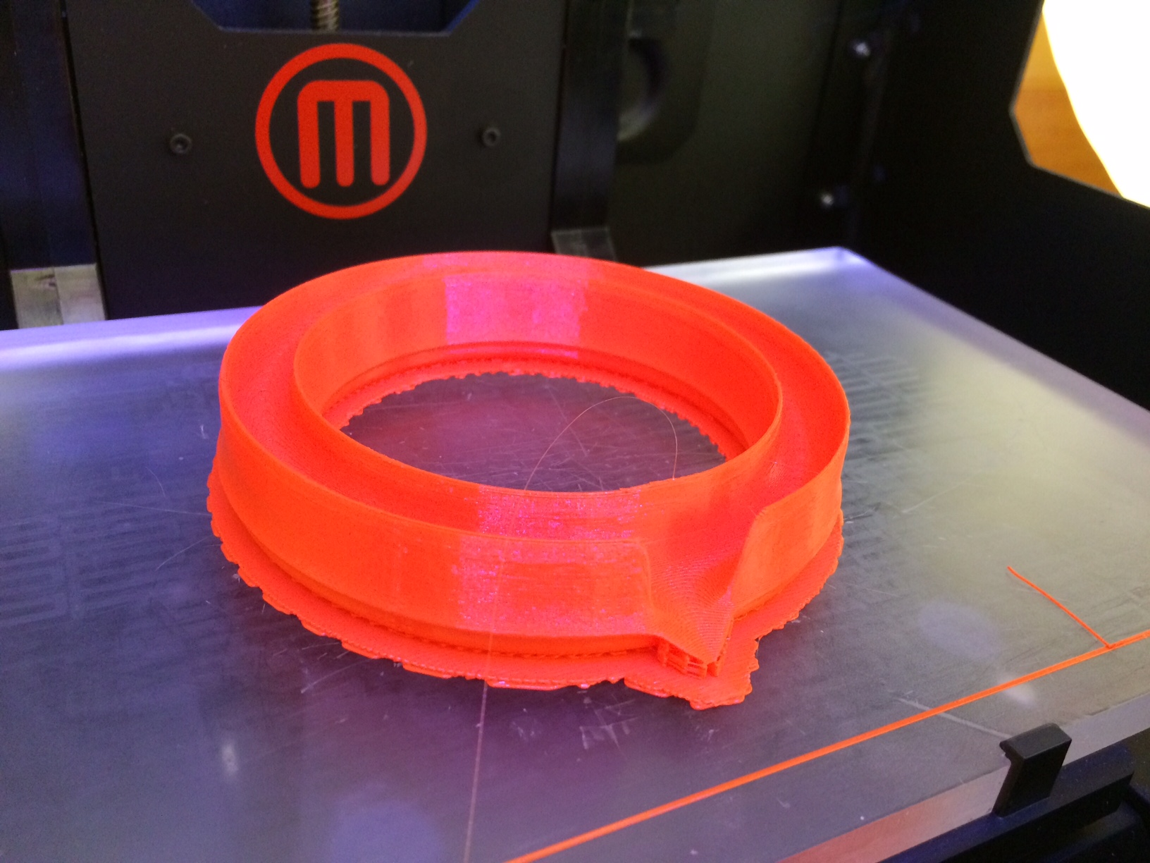 3d printed rind prototype from BGHS student.