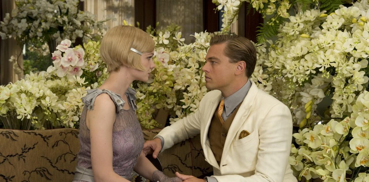 "Carey Mulligan and Leonardo DiCaprio in ""The Great Gatsby"""