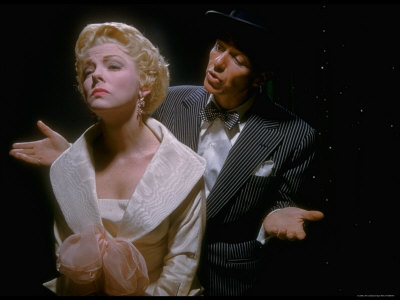 """Vivian Blaine and Frank Sinatra in """"Guys and Dolls"""""""