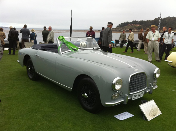 3rd In Class - 2010 Pebble Beach