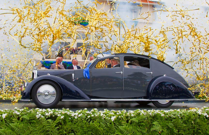 BEST OF SHOW - 2011 Pebble Beach Concours D'Elegance1934 Vosion C25