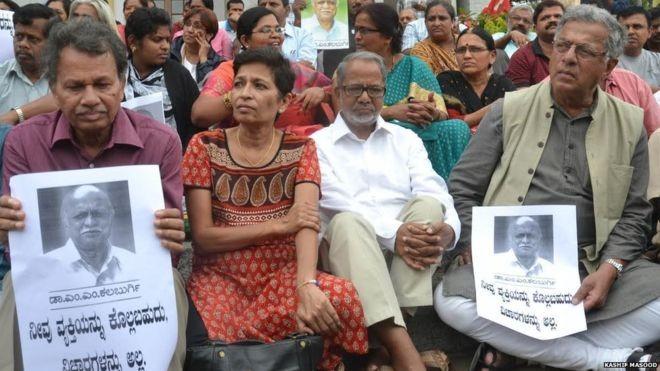 Le Dr Malleshappa Kalburgi, un penseur rationaliste, a été assassiné en août dernier par les habituels inconnus à Dharwad dans l'État du Karnataka