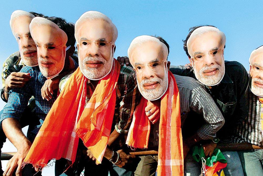 Partisans de Narendra Modi