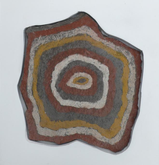 Art Premiers ,  Pierre Chucu , 1000-1500 ap. J-C. Culture Inca/Chucu Pierre —33 ×30 cm Courtesy Jeanne Bucher Jaeger