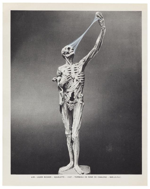 Ann-Marie James ,  Musée imaginaire, Plate 648 , 2013 Encre sur papier —22,3 ×17,7 cm Courtesy galerie Karsten Schubert, Londres