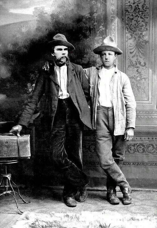 Verlaine et Rimbaud en 1873