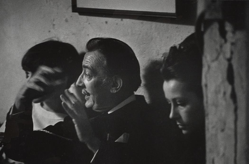 Salvador Dali et Ultra Violet au Loft  Photo  W. Eugene Smith.