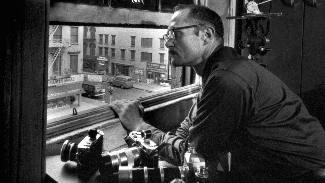 W. Eugene Smith à la fenêtre du Loft