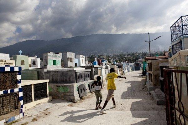 Le grand cimetière de Port-au-Prince