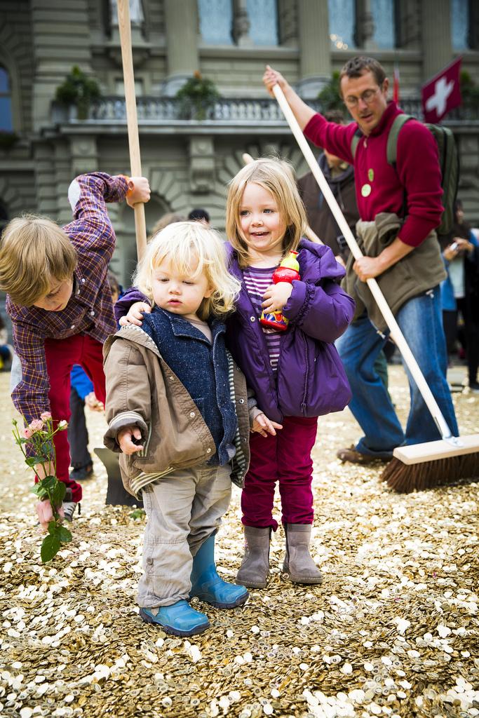 revenu de base inconditionnel enfant