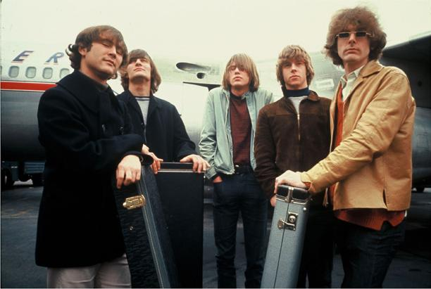 The Byrds 1965: David Crosby, Gene Clark, Michael Clarke, Chris Hillman, and Jim McGuinn